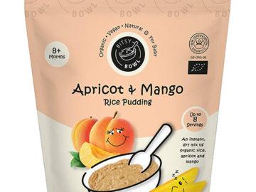 Bitsy Bowl Apricot & Mango Rice Pudding 8+ Months