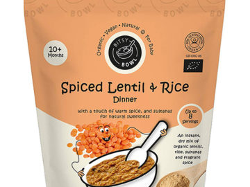 Bitsy Bowl Spiced Lentil & Rice Dinner 10+ Months
