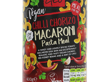 Geo Vegan Chilli Chorizo Macaroni Pasta Meal