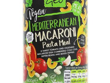 Geo Vegan Mediterranean Macaroni Pasta Meal