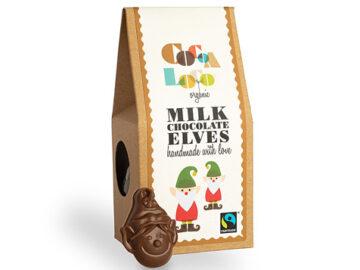 Cocoa Loco Milk Chocolate Elves Organic