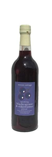 Nurses Cottage Sparkling Blackcurrant & Elderflower Presse