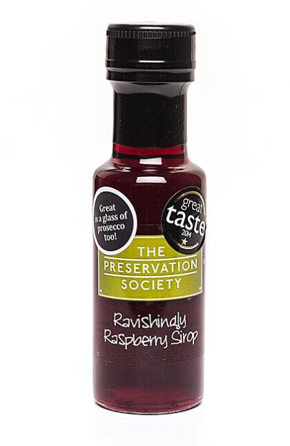 The Preservation Society Ravishingly Raspberry Sirop