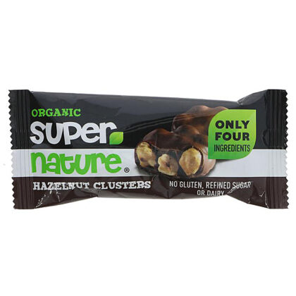 Super Nature Hazelnut Clusters Organic