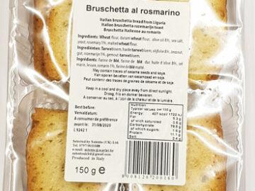 Bruschetta Al Rosmarino