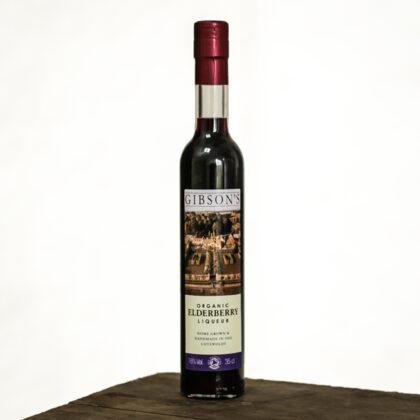 Gibson's Elderberry Liqueur Organic