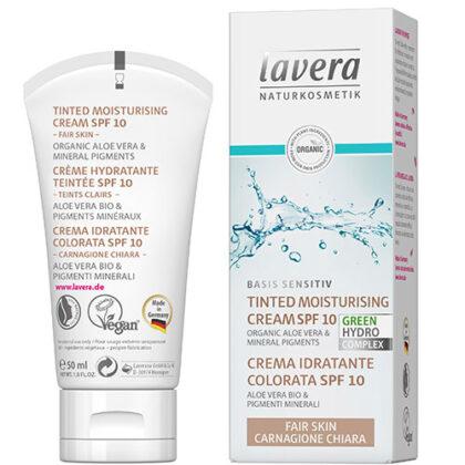 Lavera Tinted Moisturising Cream SPF10 Fair Skin Organic