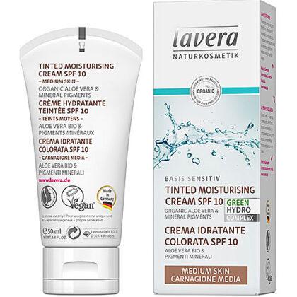 Lavera Tinted Moisturising Cream SPF 10 Organic