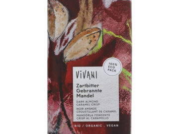 Vivani Dark Almond Caramel Crisp Organic