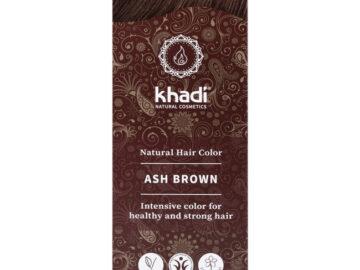 Khadi Ash Brown Natural Hair Colour
