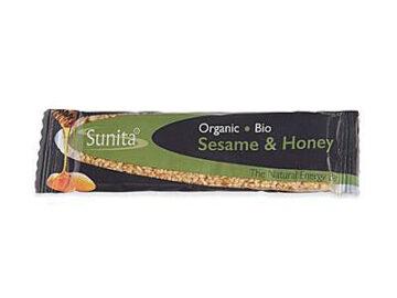 Sunita Sesame & Honey Bar Organic