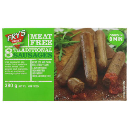 Fry's Meat Free Traditional Sausages