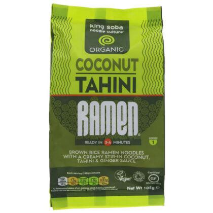 King Soba Coconut Tahini Ramen Noodles Organic