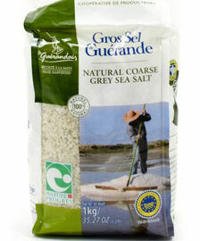 Gros Sel Guerande Natural Coarse Grey Sea Salt