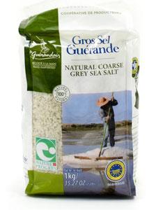 Gros Sel Guerande Natural Coarse Grey Sea Salt