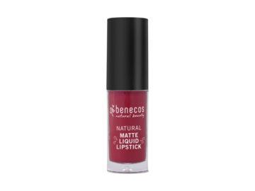 Benecos Matte Liquid Lipstick Bloody Berry Organic