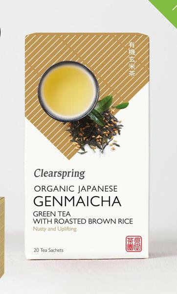 Clearspring Japanese Genmaicha Green Tea Organic