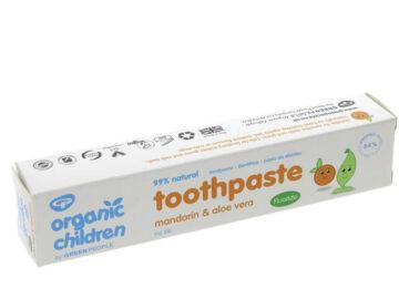 Organic Children Mandrain & Aloe Vera Toothpaste Organic