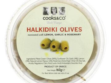 Cooks & Co Halkidiki Olives Lemon Garlic & Rosemary