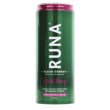 Runa Wild Berry Energy Drink Organic