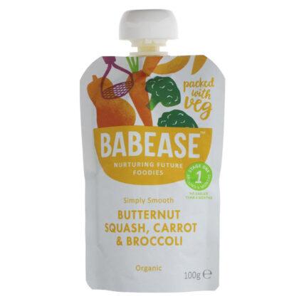 Babease Butternut Squash Carrot & Broccoli Organic