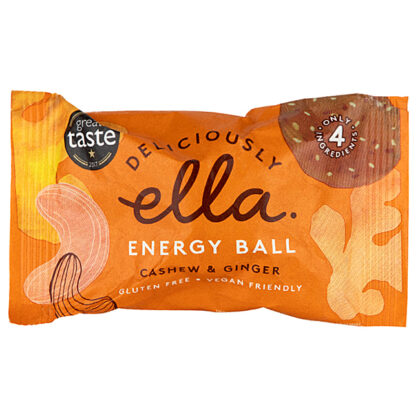 Deliciously Ella Cashew & Ginger Energy Ball