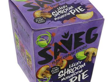 Saveg Leeky Shroom Mushroom Pie