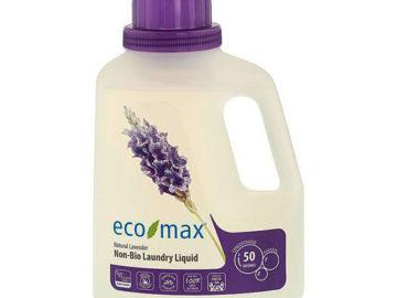 Eco Max Non-Bio Laundry Liquid Natural Lavender 1.5L
