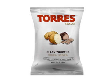 Torres Selecta Black Truffle Premium Potato Chips