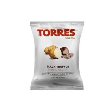 Torres Selecta Black Truffle Premium Potato Chips 125g