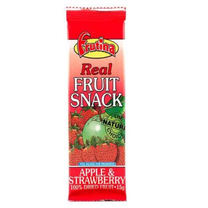Frutina Apple & Strawberry Real Fruit Snack Bar