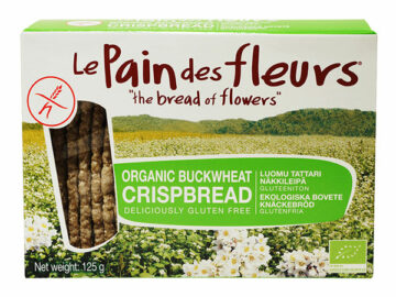 Le Pain Des Fleurs Buckwheat Crispbread Organic