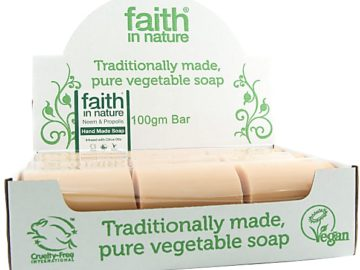 Faith In Nature Neem Soap Unwrapped