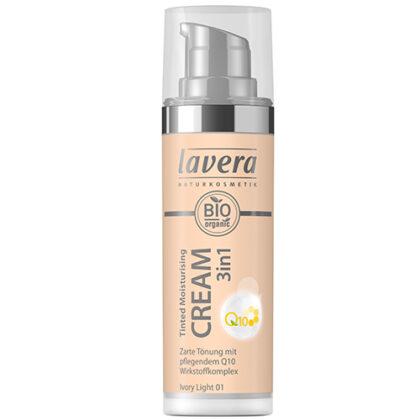 Lavera Tinted Moisturising Cream 3 in 1 Ivory Light 01