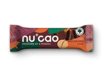 Nu Cao Macadamia Chai Chocolate Organic