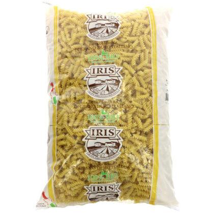 Iris White Fusilli Pasta Organic 5kg Bulk