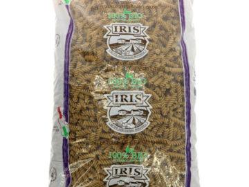 Iris Wholewheat Fusilli Organic 5kg Bulk