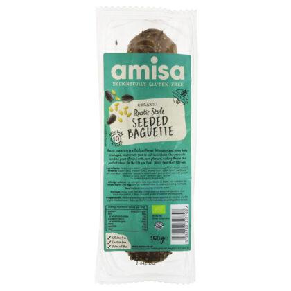Amisa Rustic Style Seeded Baguette Organic