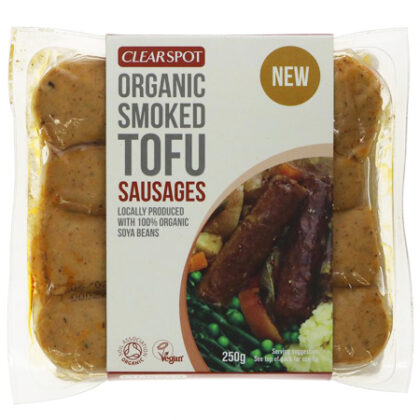Clearspot Smoked Tofu Sausages Organic