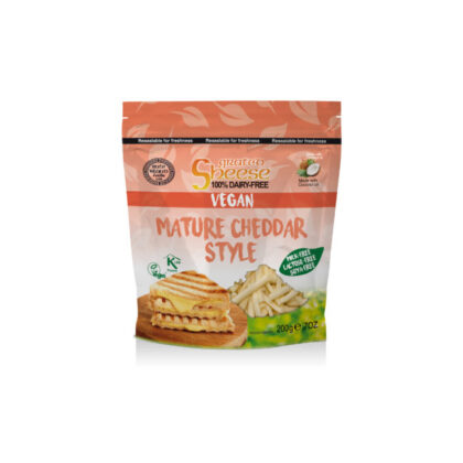 Bute Island Vegan Mature Cheddar Style Grated Sheese