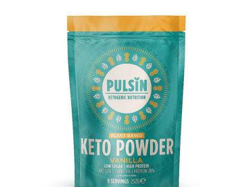Pulsin' Plant Based Vanilla Keto Protein Powder