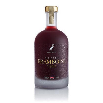 White Heron British Framboise Raspberry Liqueur 500ml