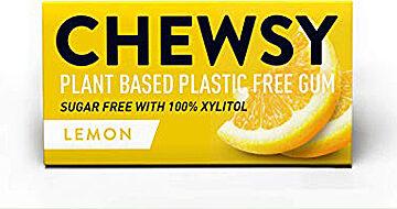 Chewsy Lemon Plastic Free Gum