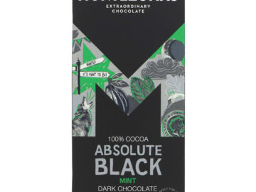Montezuma's Absolute Black Mint Dark Chocolate