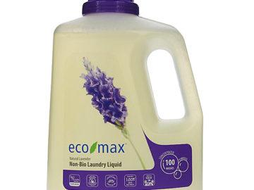 Eco Max Non-Bio Laundry Liquid Natural Lavender 3L