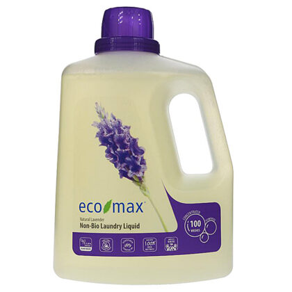 Eco Max Non-Bio Laundry Liquid Natural Lavender 3L