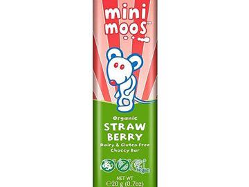 Moo Free Mini Moos Strawberry Organic