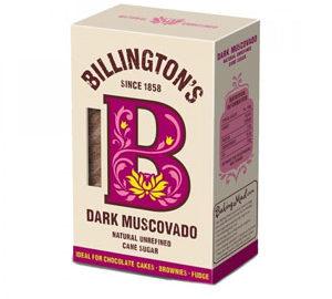 Billingtons Dark Muscovado Natural Unrefined Sugar