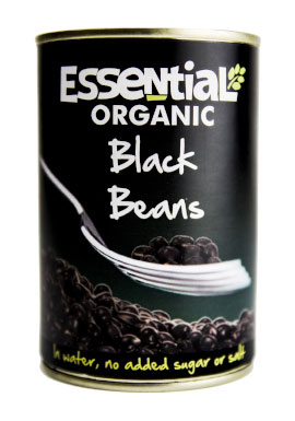 Essential Black Beans In Water Organic