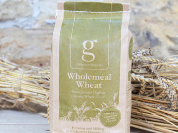 Gilchesters Stoneground Unbleached Strong Wholemeal Wheat Flour Organic